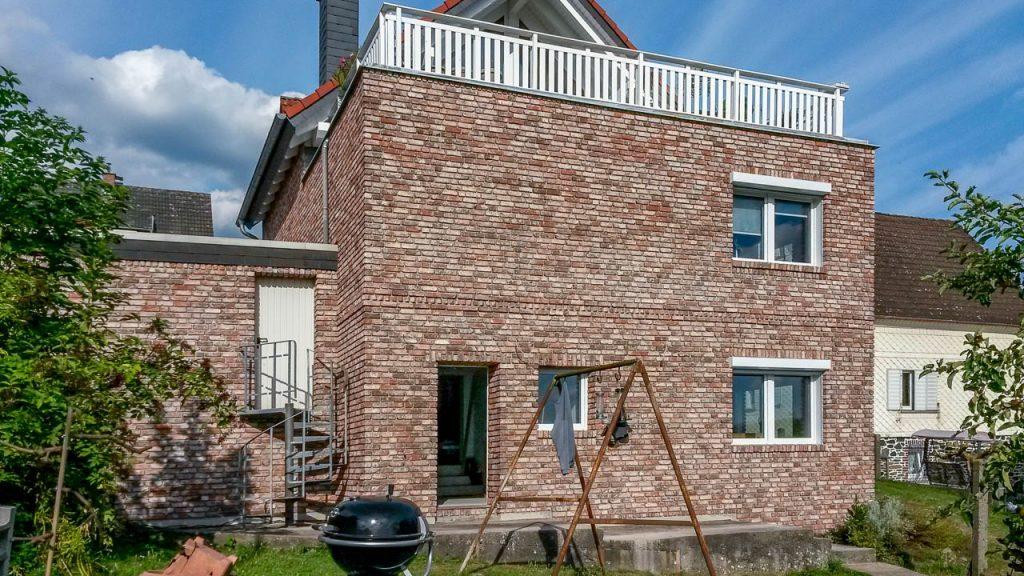 Hausfassade - Backsteinriemchen antik classic